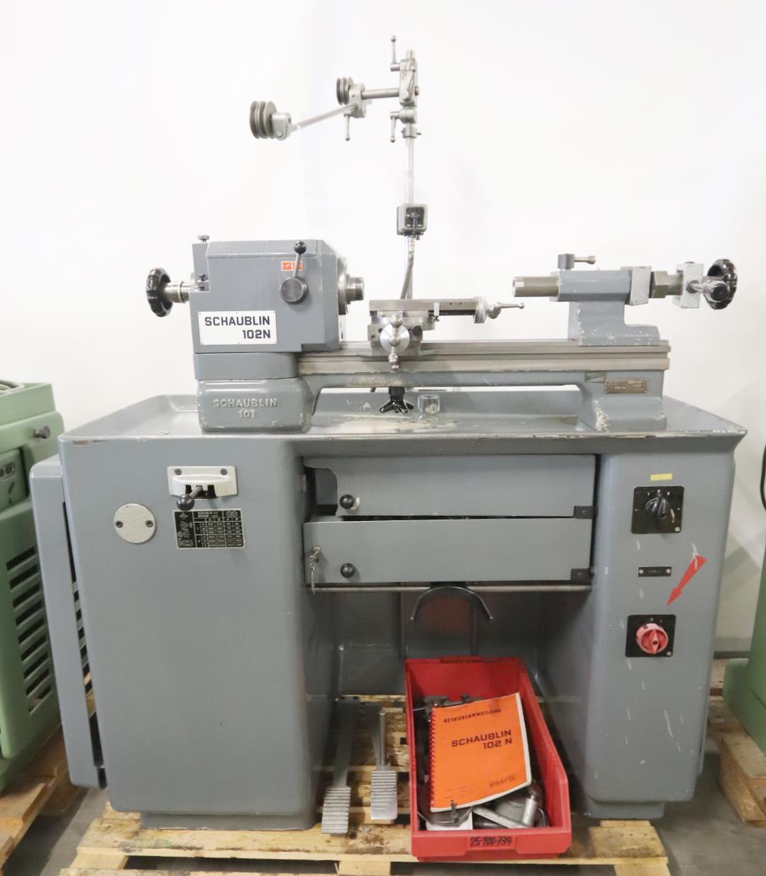 Schaublin 102n 80 tour outilleur machine outil d 39 occasion for Piccolo tornio usato