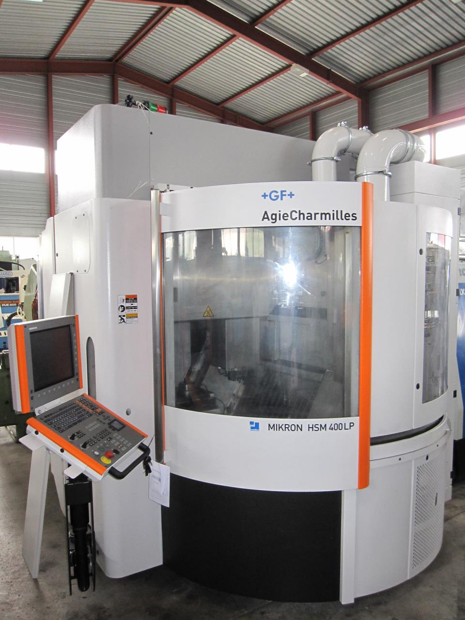 CNC-High speed milling machine MIKRON HSM 400 LP