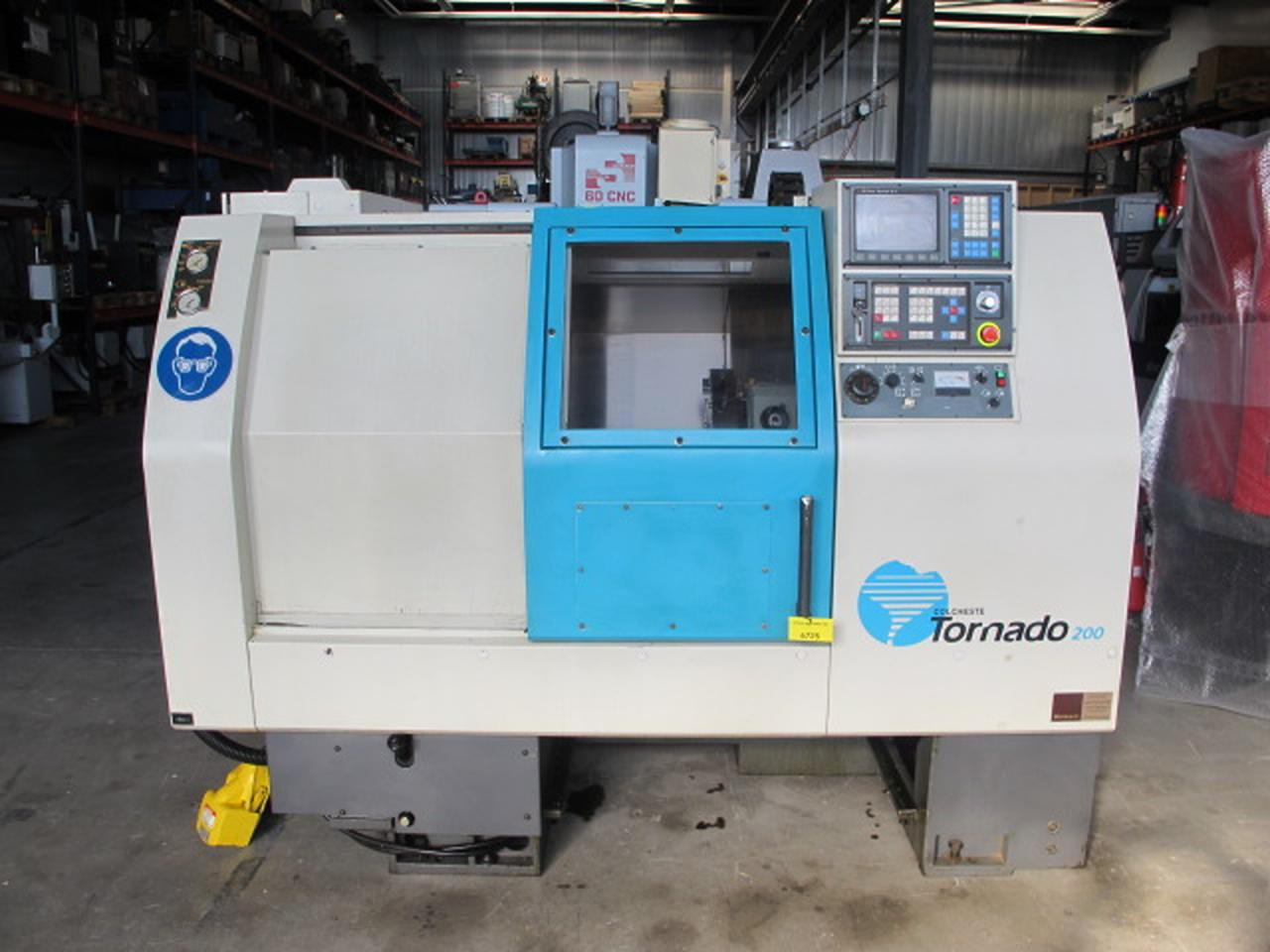 CNC turning lathe COLCHESTER TORNADO 200 A