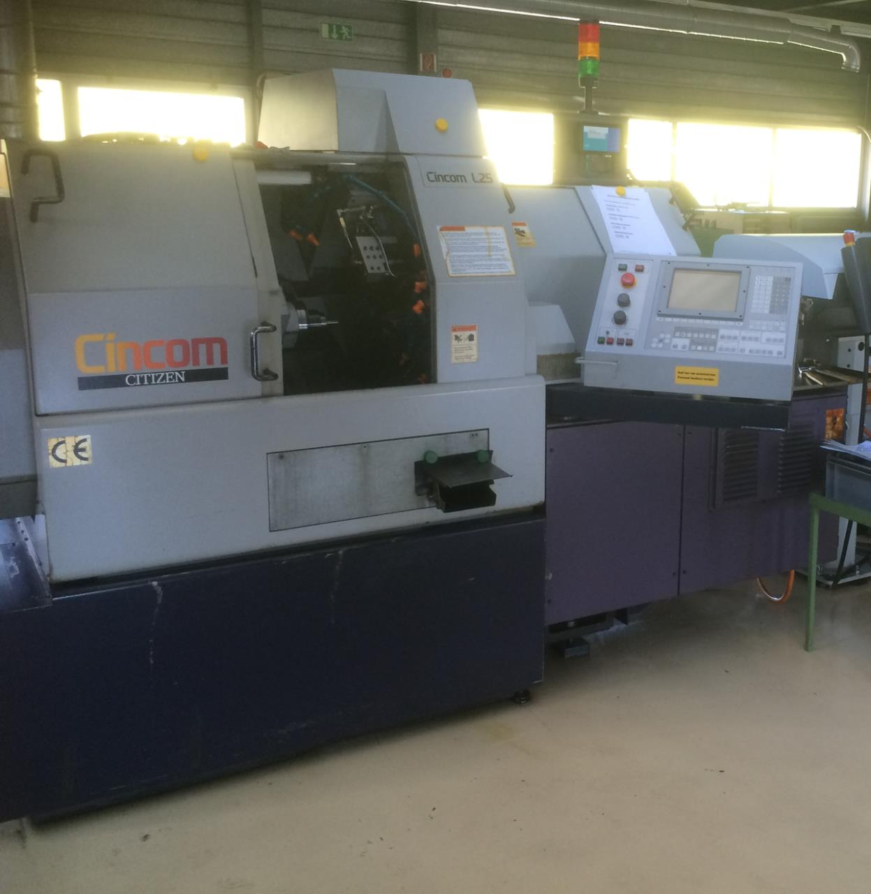 CNC automatic lathe CITIZEN CINCOM L 25