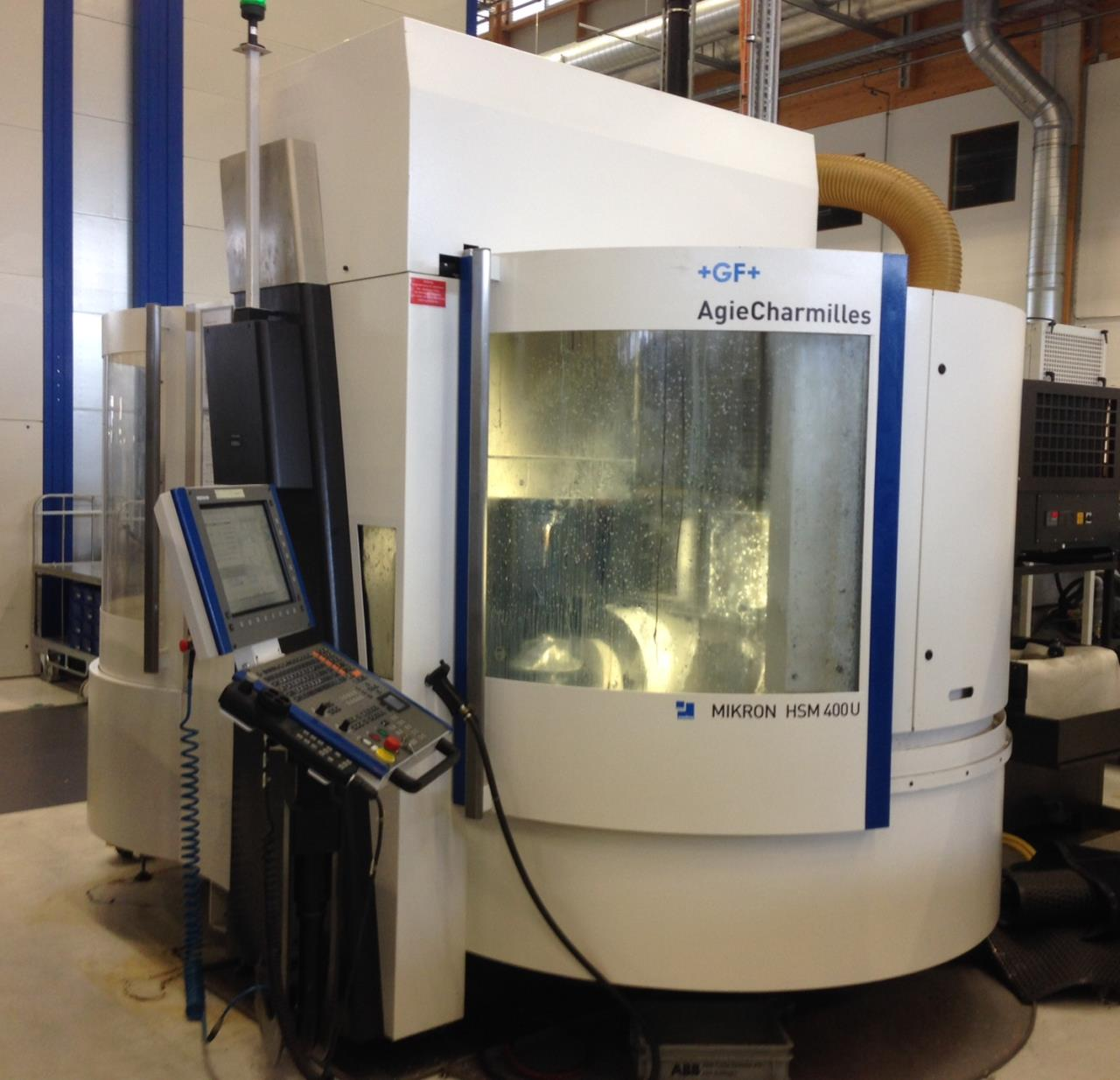CNC-High speed milling machine MIKRON HSM 400U
