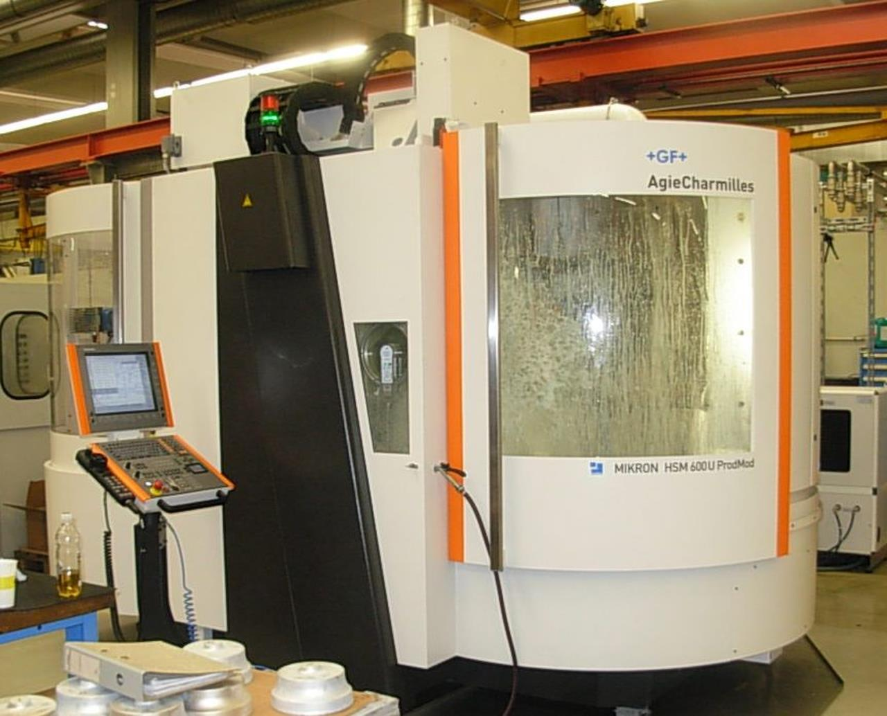 CNC-High speed milling machine MIKRON HSM 600U Prod Mod