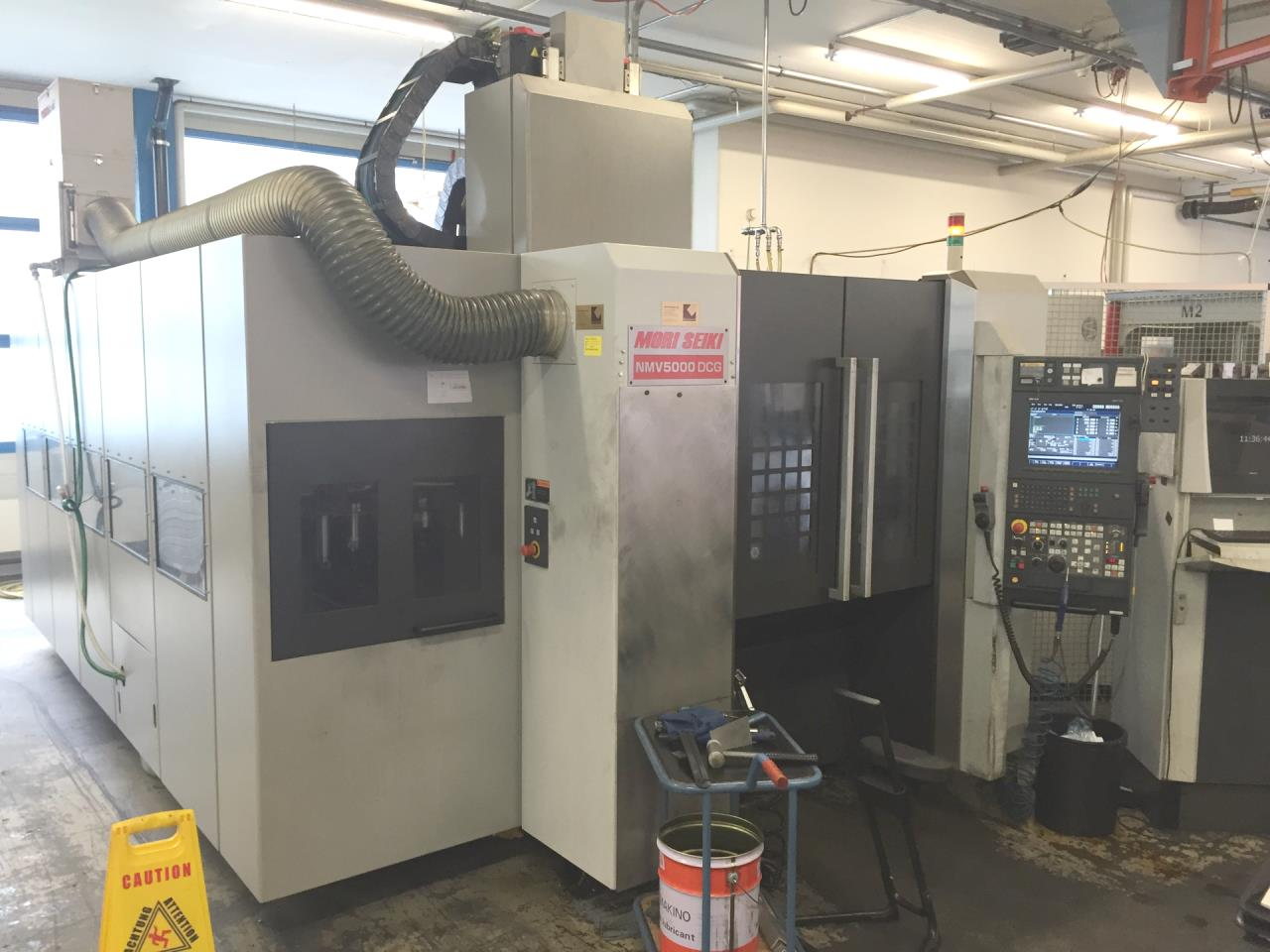 Vertical machining center MORI SEIKI NMV 5000 DCG