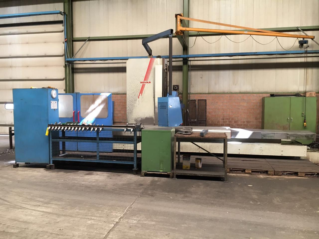 CNC Bed type milling machine NOVAR ACTIVE 5000x1000
