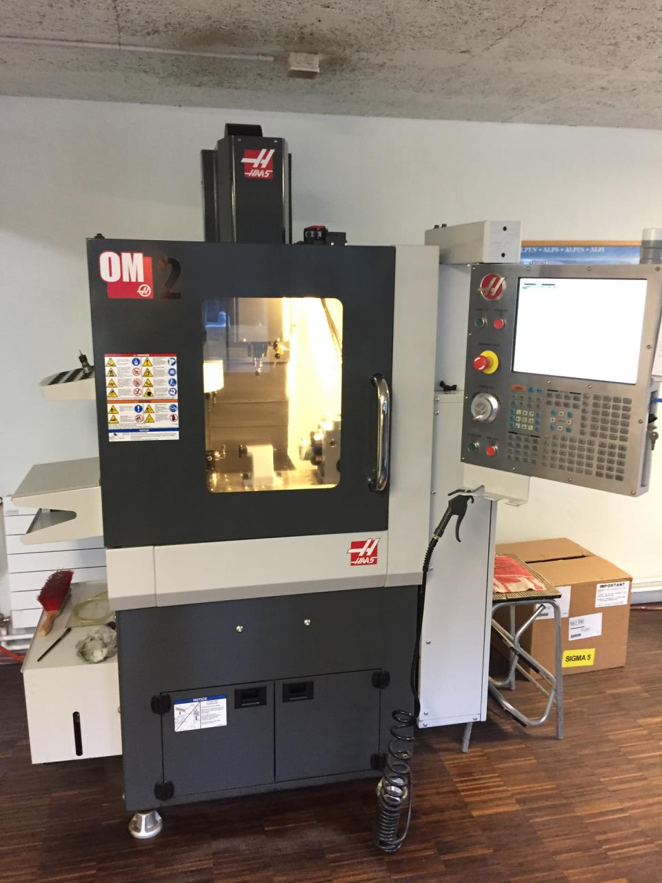 CNC-High speed milling machine HAAS OM-2A