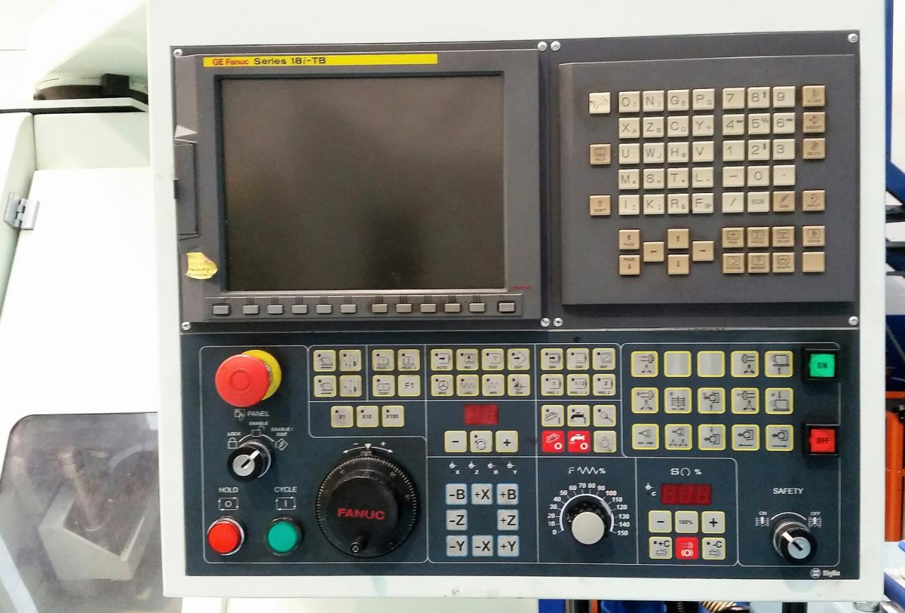 BIGLIA B 470/YSM | CNC turning lathe | Second-hand machine tool