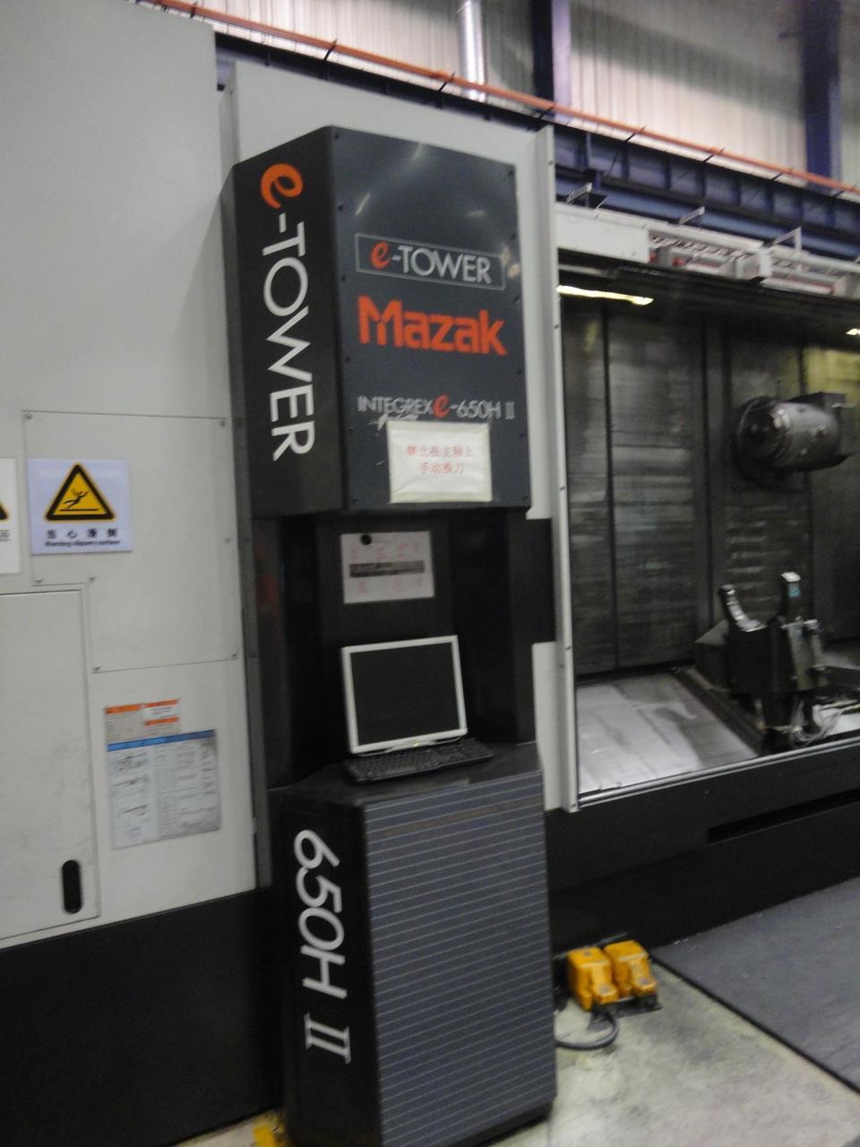 MAZAK INTEGREX E-650H-S | CNC Lathe- Milling Center | Second-hand
