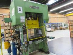 Automatic punching and bending machine WEINGARTEN 125 to