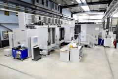 4 machining centres horizontal with FMS MORI-SEIKI 3x NH6300 (4axis)  1x NMH6300 (5axis)
